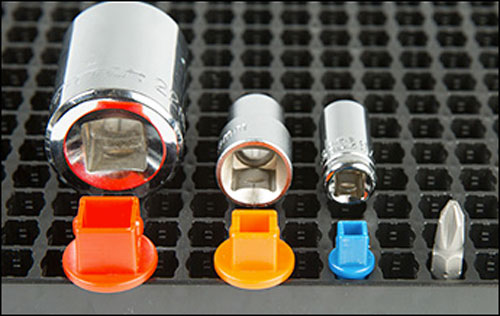 Socket Head 2 2 Drive 2 1 1 1 X Hex Sockets