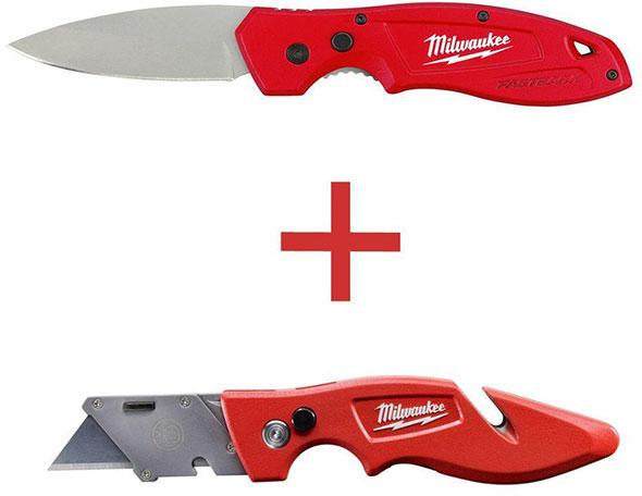 Home Depot Milwaukee Knife Combo Pack