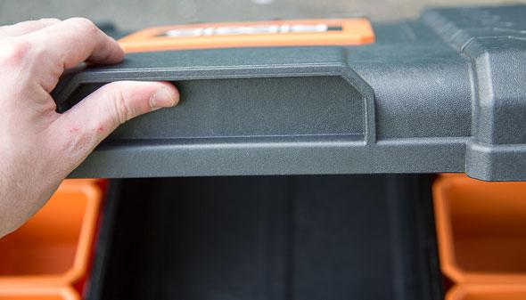 Ridgid Pro Tool Box Organizer Lid Handle