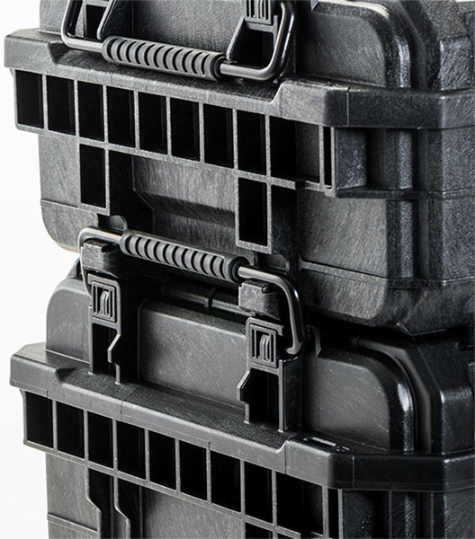 Ridgid Pro Tool Box Organizer Locked Together