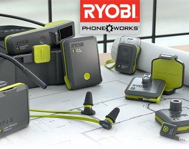Ryobi Phone Works Tool Family