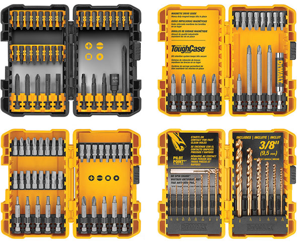 Dewalt 100pc Drilling and Driving Bit Set