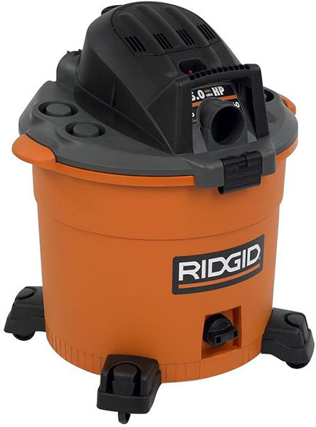Home Depot Ridgid WD1636 Shop Vacuum Black Friday 2014 Deal