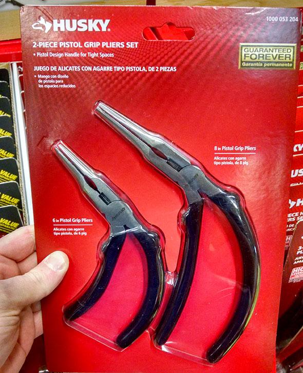 Husky Pistol Grip Pliers