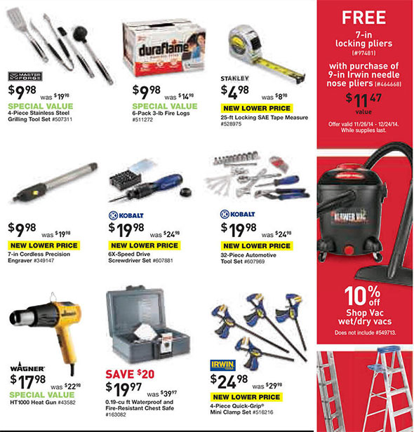 Lowes Black Friday 2014 Tool Deals Page 8