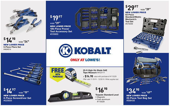 Lowes Pre-Black Friday 2014 Tool Deals Page 5