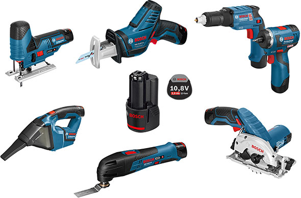 Bosch 12V Max 2015 New Tools Kits Europe