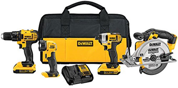 Dewalt DCK421D2 20V Max Cordless Combo Kit
