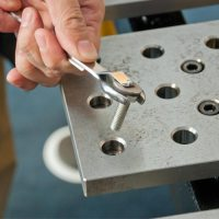 Magnetic Nut and Bolt Holders for Wrenches and Hex Keys