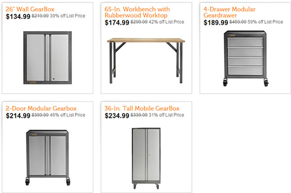 Woot Gladiator Cabinet Deal 122014