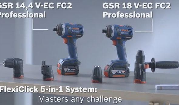 Bosch 18V Brushless FlexiClick System