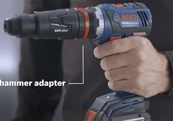 Bosch FlexiClick Rotary Hammer Adapter