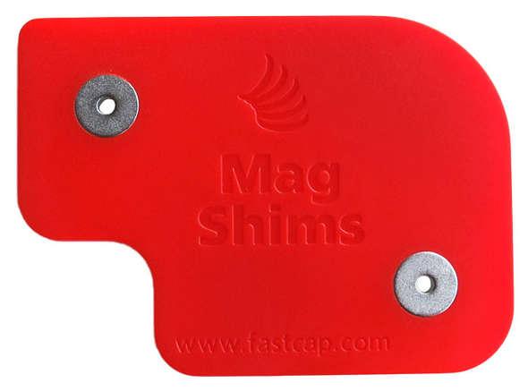 FastCap Magnetic Shim close up