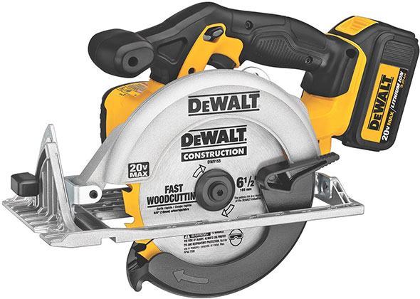 Dewalt 20V Max Cordless Circular Saw DCS391