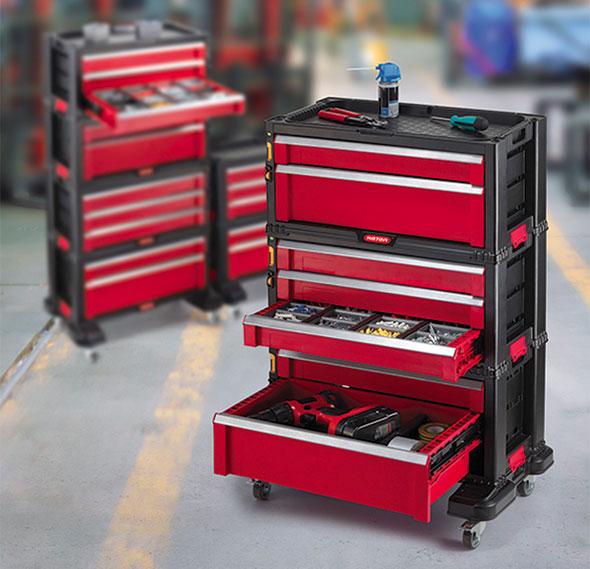 Keter Modular Tool Boxes