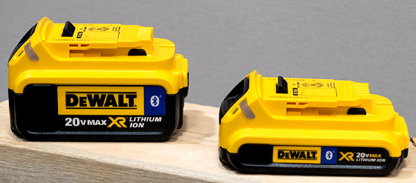 Dewalt 20V Max Bluetooth Batteries