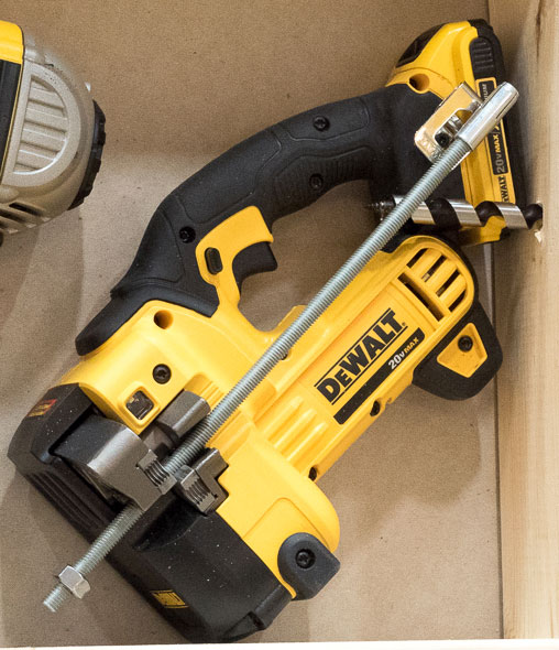 Dewalt 20V Max Threaded Rod Cutter on the Shelf