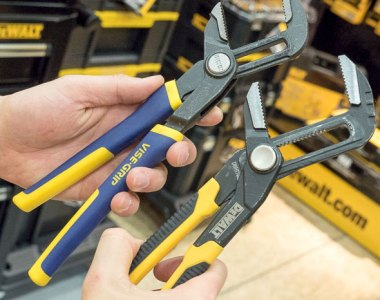 Dewalt Adjustable Pliers vs Irwin GrooveLock