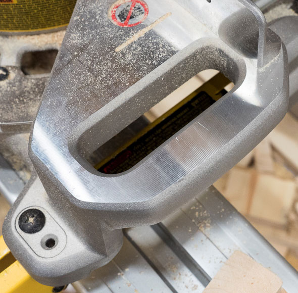 Dewalt Cordless Miter Saw Side Handle