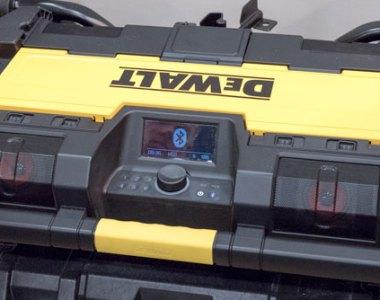 Dewalt ToughSystem Bluetooth Radio and Music Player