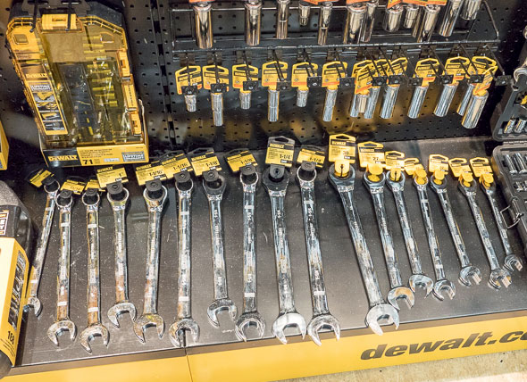 Dewalt Wrenches Open Stock