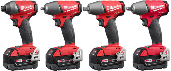 Milwaukee M18 Fuel Impact Driver and Wrenches Gen2 2015