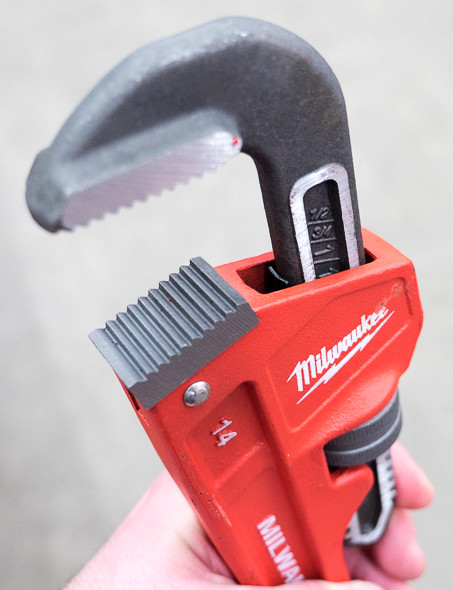 Milwaukee Pipe Wrench Head
