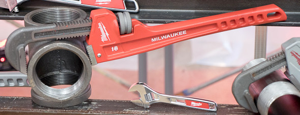 Milwaukee Pipe Wrench
