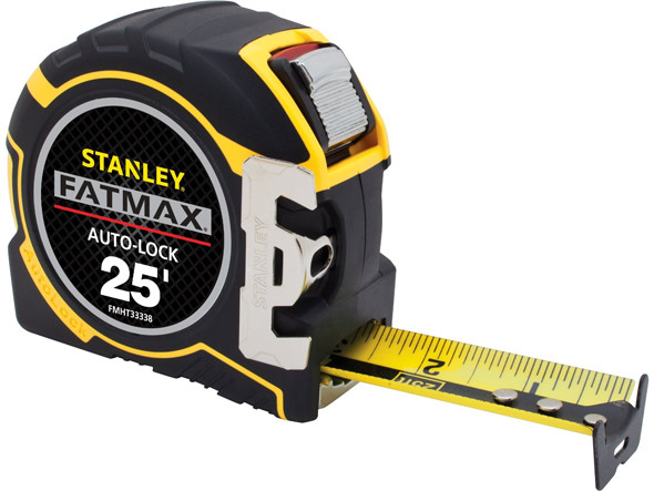 Stanley FatMax Auto-Lock Tape Measure Extended