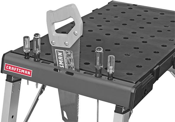 Craftsman Peg Table Hand Tool Storage
