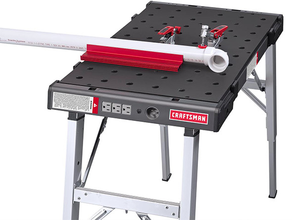 Craftsman Peg Table with Clamping Accessories