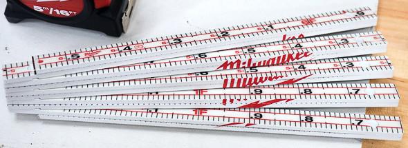 Milwaukee Folding Ruler