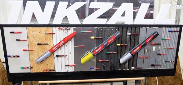 Milwaukee Inkzall Marker Selection