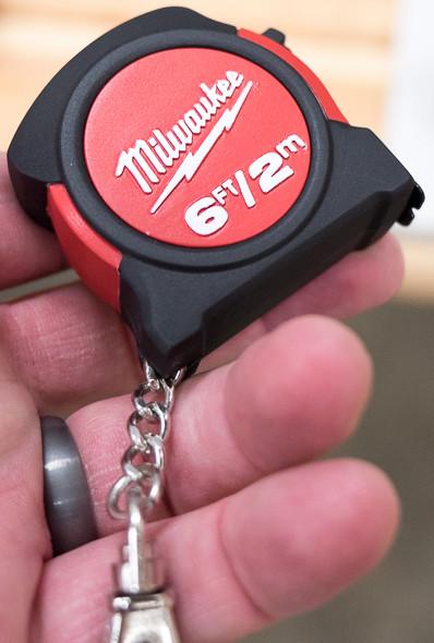 Milwaukee Tape Measure Keychain