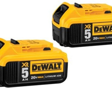 Dewalt 20V Max 5Ah Battery 2-Pack