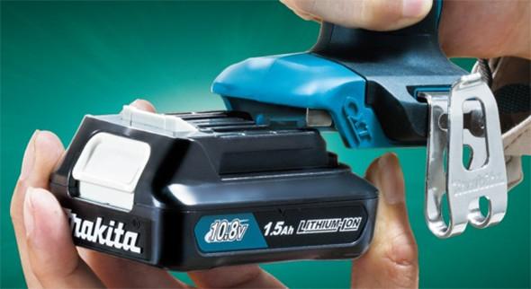 Makita 12V CXT Slide Pack Battery