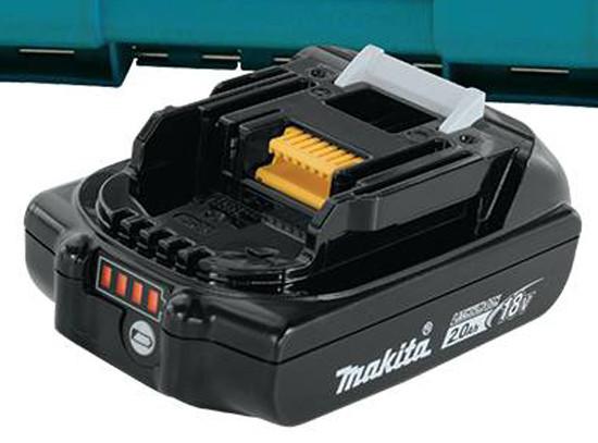 Makita 18V 2Ah Battery with Fuel Gauge
