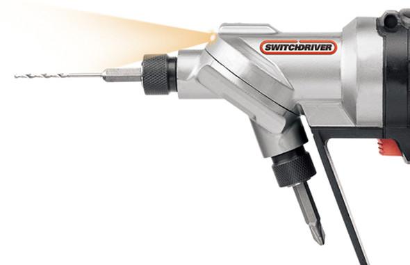 Worx SwitchDriver Cordless Drill Driver Chuck Closeup