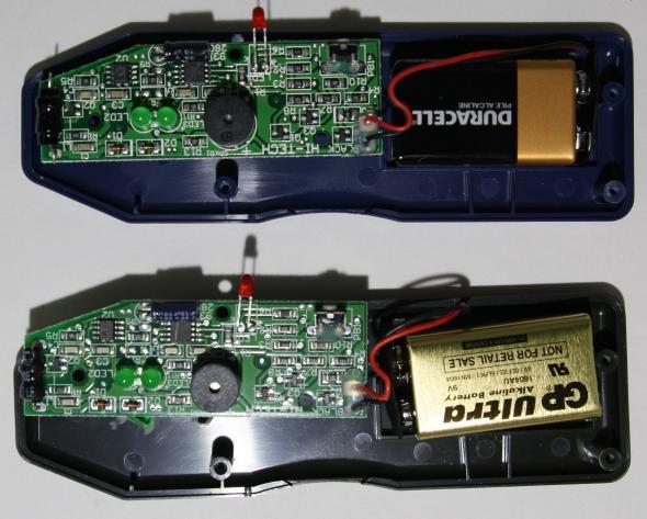 Klein vs HF board front side
