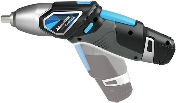 BluCave FlashCell Cordless Screwdriver Pivoting Handle