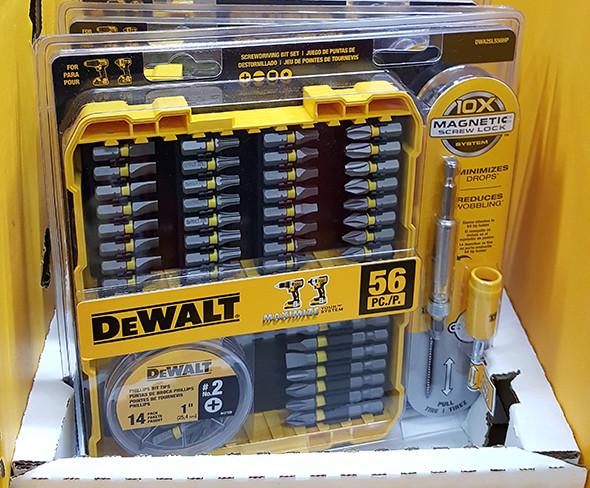 Dewalt 56pc Screwdriver Bit Set Home Depot Holiday 2015