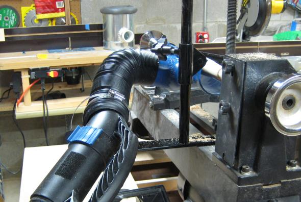 Lathe Dust Collection System