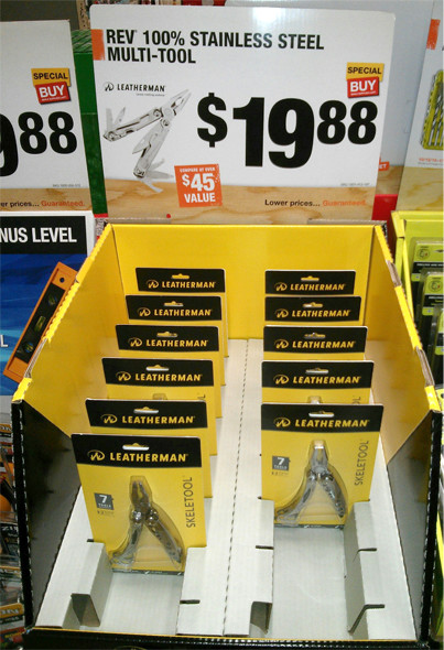 Leatherman Rev Promo at Home Depot Holiday 2015