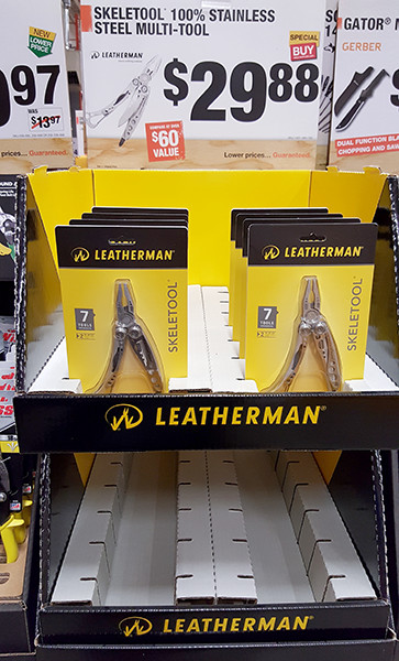 Leatherman Skeletool Selling out at Home Depot Holiday 2015