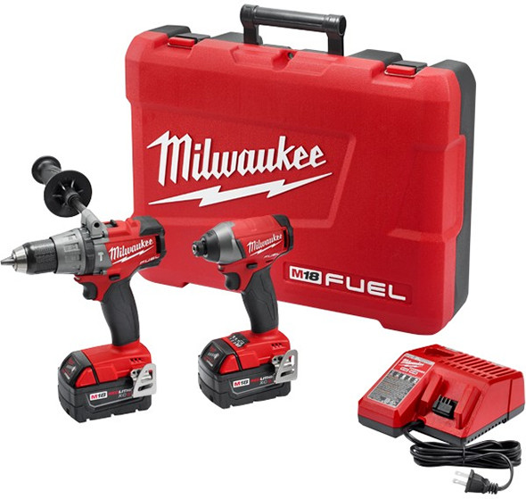 Milwaukee M18 Fuel 2897 Hammer Drill and Impact Driver Combo Kit
