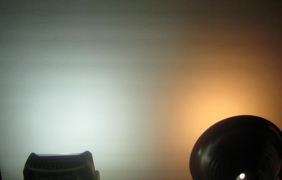Ryobi light vs incandescent bulb