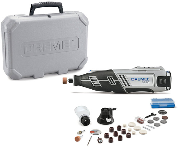 Dremel 8220 Cordless Rotary Tool 28 Accessory Kit