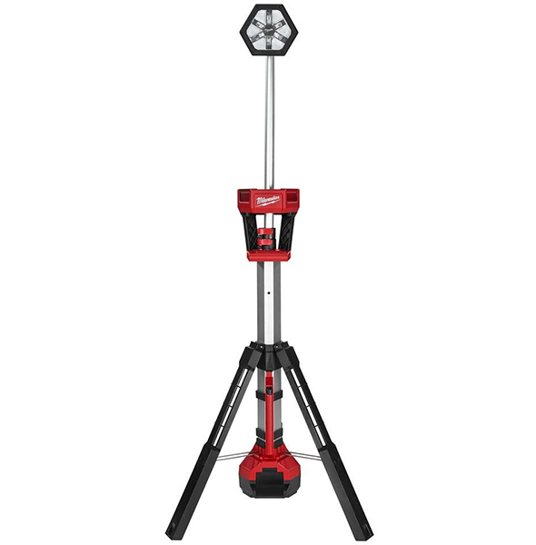 Hot Deal: Milwaukee M18 LED Stand with FREE Battery