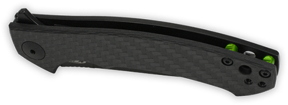 Zero Tolerance 0450CF Knife Closed Angled