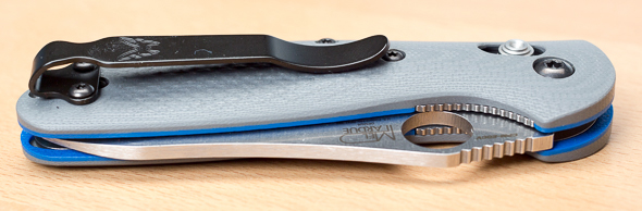 Benchmade Griptilian 555-1 Knife Deep Pocket Clip